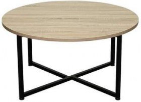 telford round coffee table