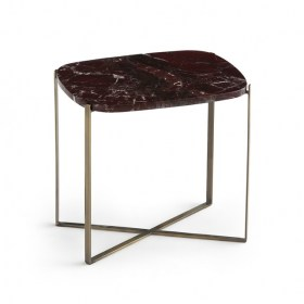Arambol Oval Marble End Table
