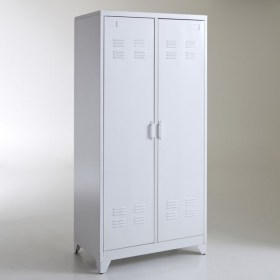 Hiba 2-Door Metal Locker Cabinet